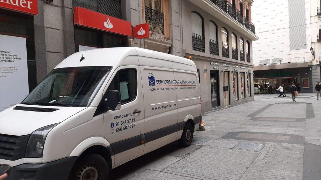 Obras de poceria aspol Madrid